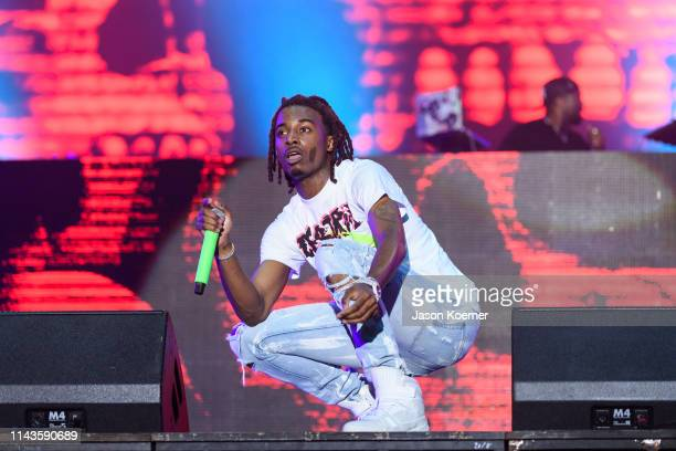 Jordan Terrell Carter known by his stage name Playboi Carti performs during day three of Rolling Loud at Hard Rock Stadium on May 12 2019 in Miami...