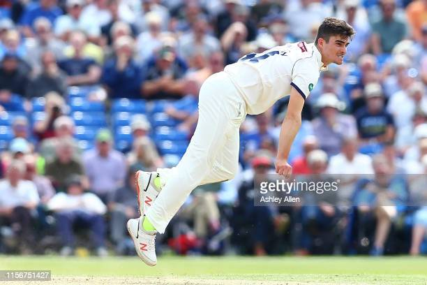 Jordan Thompson of Yorkshire CCC in action during the Specsavers County Championship Division one match between Yorkshire and Warwickshire at on June...