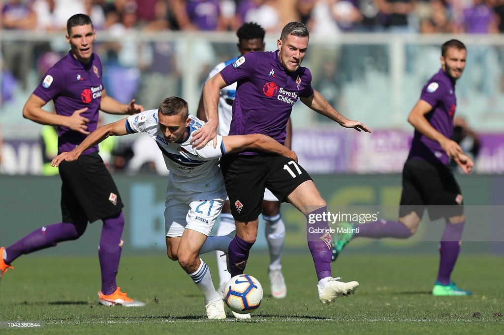 ACF Fiorentina v Atalanta BC - Serie A : Foto di attualità
