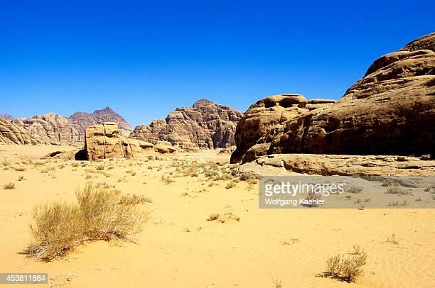 Jordan Wadi Rum Landscape Sand