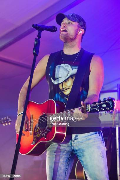 Jordan Walker of Walker McGuire performs on Day 2 of Seven Peaks Festival on September 1 2018 in Buena Vista Colorado