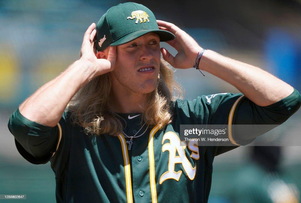 Oakland Athletics Summer Workouts : News Photo