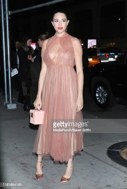 Jordan Weiss is seen on November 11, 2019 in New York City.