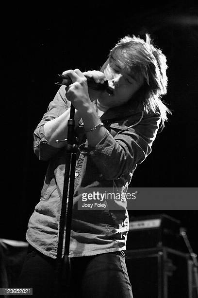 Jordan Witzigreuter of The Ready Set performs onstage during the 2010 WNCI Jingle Ball at the Lifestyle Communities Pavilion on December 7 2010 in...