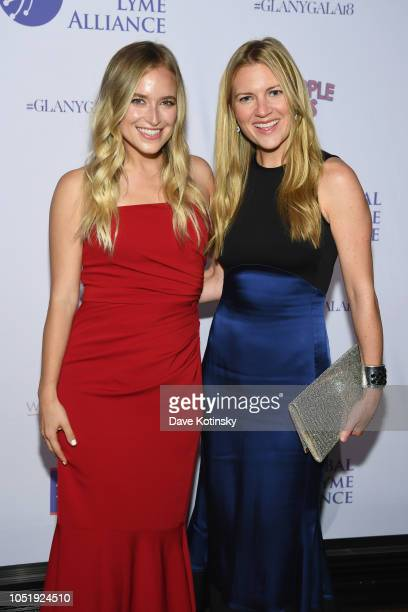 Jordan Younger and Adrienne Nolan attend the Global Lyme Alliance Fourth Annual New York City Gala on October 11 2018 in New York City
