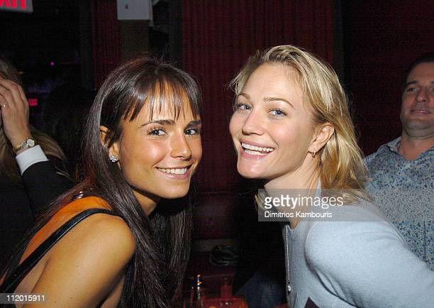 Jordana Brewster and Sarah Wynter during Maxim SNO Party Hosted by January Cover Girl Michelle Branch at Marque in New York City New York United...