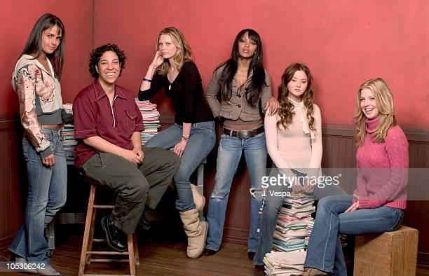 Jordana Brewster, Angela Robinson, director, Meagan Good, Sara Foster, Devon Aoki and Jill Ritchie