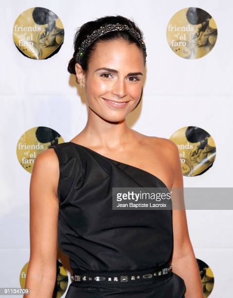 Jordana Brewster arrives at the 6th Annual Friends Of El Faro Event at Boulevard3 on September 24 2009 in Hollywood California