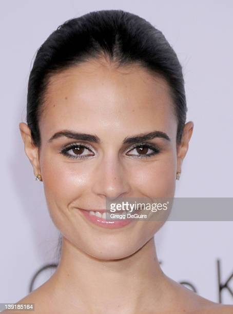 Jordana Brewster arrives at the Calvin Klein Collection and Los Angeles Nomadic Division Present L.A. Arts Month on January 28, 2010 in Los Angeles,...