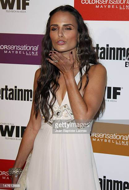 Jordana Brewster arrives at the Entertainment Weekly and Women In Film's PreEmmy Party at the Restaurant at The Sunset Marquis Hotel on September 17...