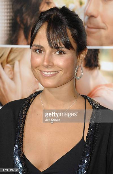 Jordana Brewster arrives at the Feast of Love premiere at The Academy of Motion Picture Arts and Sciences on September 25 2007 in Los Angeles...