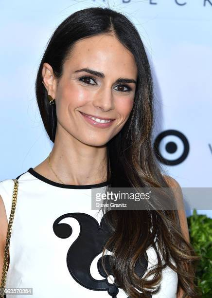 Jordana Brewster arrives at the Victoria Beckham For Target Launch Event at Private Residence on April 1 2017 in Los Angeles California
