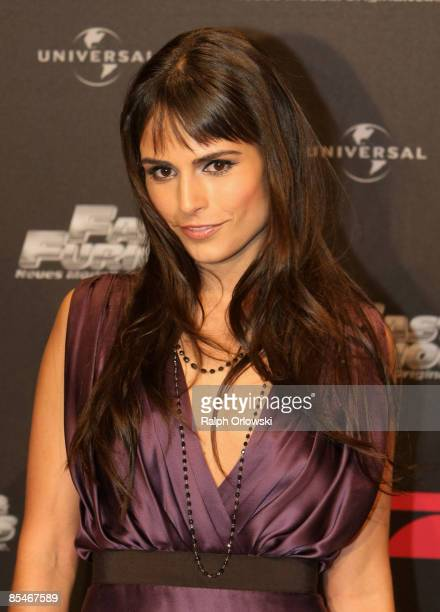 Jordana Brewster arrives for the Europe premiere of Fast Furious on March 17 2009 in Bochum Germany
