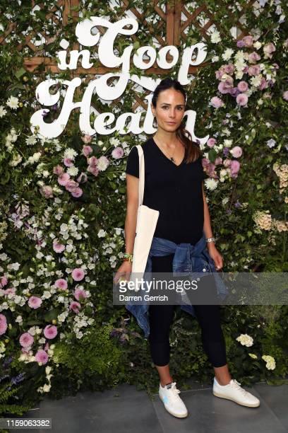 Jordana Brewster at In goop Health London 2019 on June 29 2019 in London England