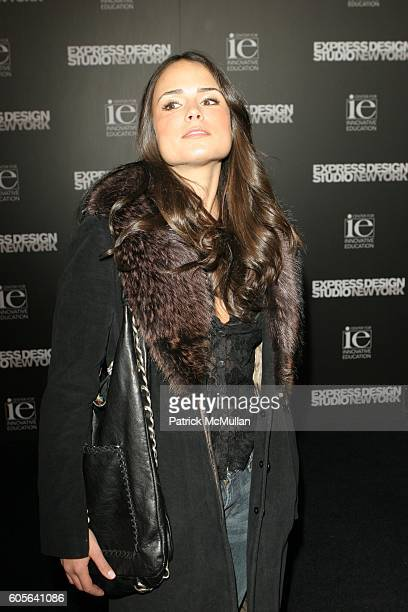 Jordana Brewster attends A Night of Music Fashion benefiting the Center for Innovative Education hosted by Express at Smashbox Studios on February 16...