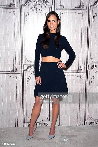 Jordana Brewster attends AOL BUILD Speaker Series Jordana Brewster Discusses Her Film 'Furious 7' at AOL Studios In New York on April 3 2015 in New...