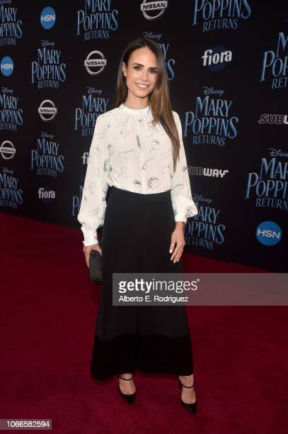 Jordana Brewster attends Disney's 'Mary Poppins Returns' World Premiere at the Dolby Theatre on November 29 2018 in Hollywood California