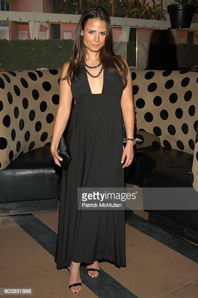 Jordana Brewster attends JORDANA BREWSTER's Blame it on Rio Birthday Party hosted by CABANA CACHACA at Bungalow 8 on April 20 2006 in New York City