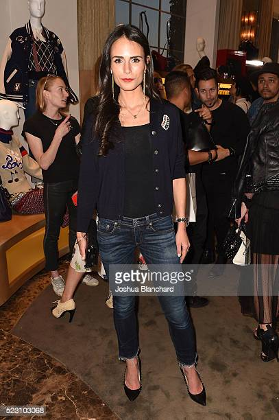 Jordana Brewster attends Marc Jacobs And Nylon Magazine Celebrate #PATCHMARC at Marc Jacobs on April 21 2016 in Los Angeles California