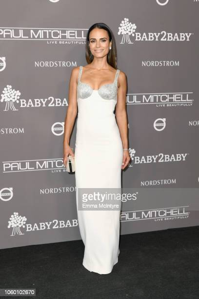 Jordana Brewster attends the 2018 Baby2Baby Gala Presented by Paul Mitchell at 3LABS on November 10 2018 in Culver City California
