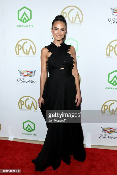 Jordana Brewster attends the 30th annual Producers Guild Awards at The Beverly Hilton Hotel on January 19 2019 in Beverly Hills California