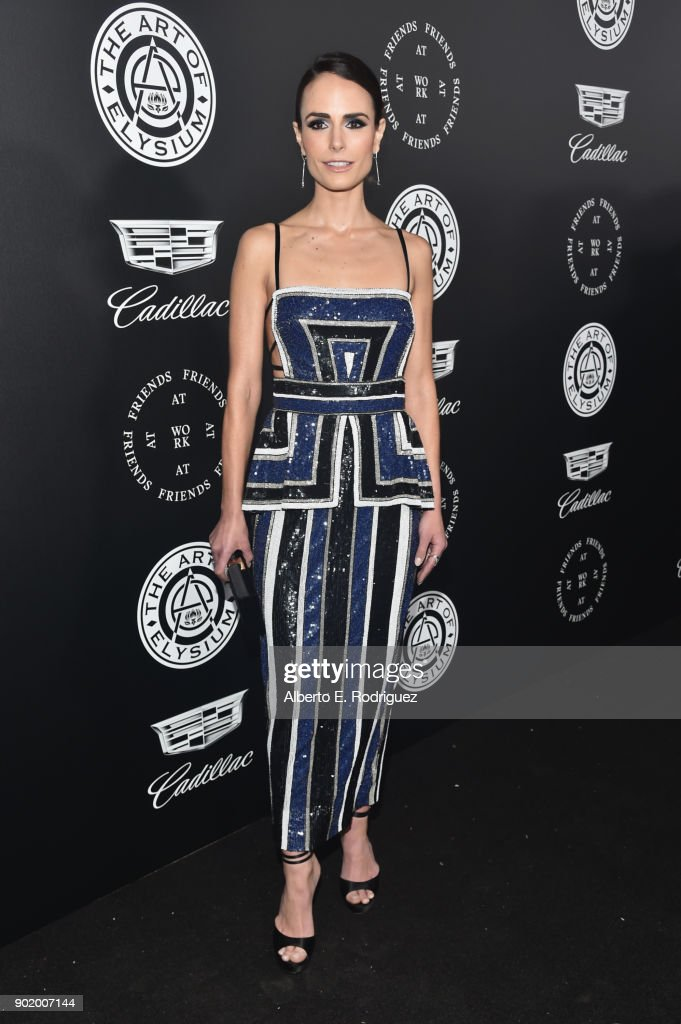 Jordana Brewster attends The Art Of Elysium's 11th Annual Celebration on January 6, 2018 in Santa Monica, California.
