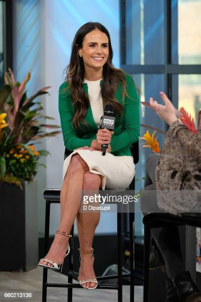 Jordana Brewster attends the Build Series to discuss her new partnership at Build Studio on March 29 2017 in New York City