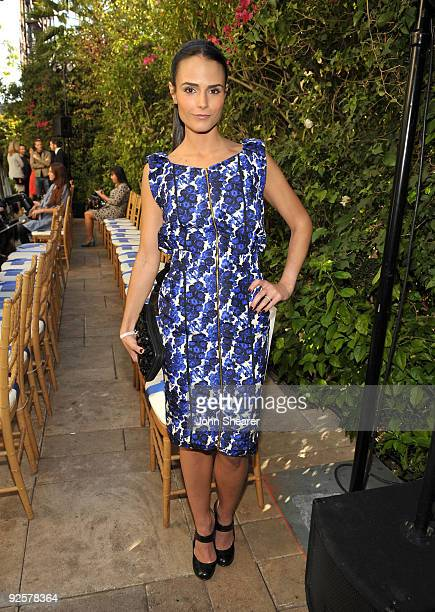 LOS ANGELES CA OCTOBER 30 Jordana Brewster attends the CFDA/Vogue Fashion Fund Event at Chateau Marmont on October 30 2009 in West Hollywood...