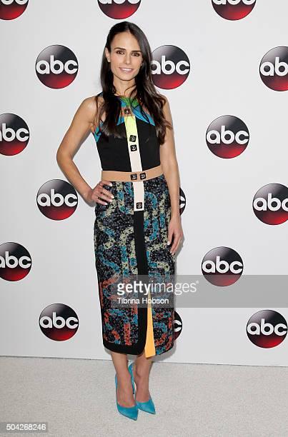 Jordana Brewster attends the Disney/ABC 2016 Winter TCA Tour at Langham Hotel on January 9 2016 in Pasadena California