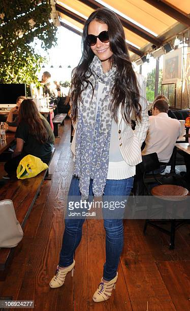 Jordana Brewster attends the luncheon for the Solstice Sunglassescom ECommerce launch on November 16 2010 in West Hollywood California