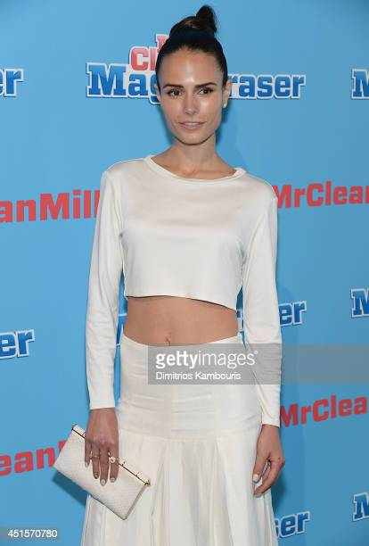 Jordana Brewster attends the Mr Clean Summer Fashion Party at Root Drive In on July 1 2014 in New York City