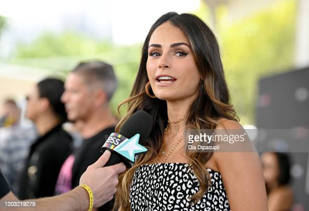 Jordana Brewster attends The Road to F9 Global Fan Extravaganza at Maurice A Ferre Park on January 31 2020 in Miami Florida