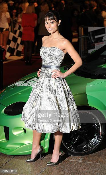 Jordana Brewster attends the UK premiere of Fast Furious 4 at Vue West End on March 19 2009 in London England