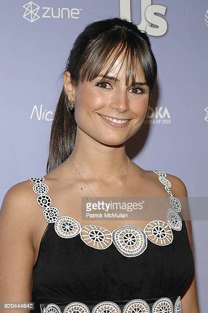Jordana Brewster attends Us Weekly Magazine's Hot Hollywood 2008 Party at Beso on April 17 2008 in Hollywood CA