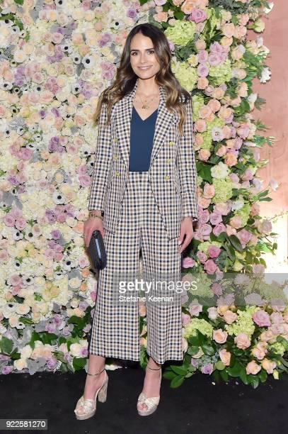 Jordana Brewster attends Veronica Beard LA Store Opening on February 21 2018 in Los Angeles California