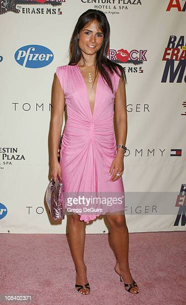 Jordana Brewster during 11th Annual Race To Erase MS Gala Arrivals at The Westin Century Plaza Hotel in Los Angeles California United States