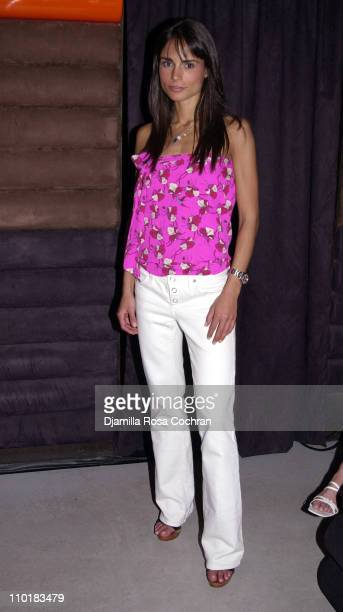 Jordana Brewster during 4th Year Kickoff Party for The Truth National Smoking Prevention Campaign at Cielo Club in New York City New York United...