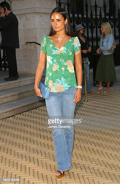 Jordana Brewster during Cocktails In The Garden Coach Celebrates Summer at The CooperHewitt National Design Museum in New York City New York United...