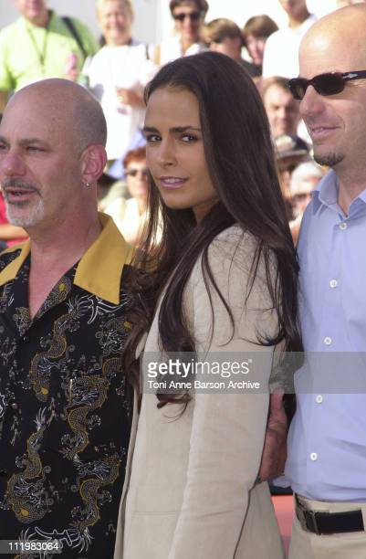 Jordana Brewster during Deauville 2001 The Fast and Furious Photocall at Centre International Deauville CID in Deauville France