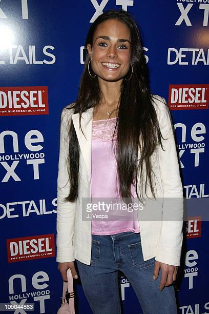 Jordana Brewster during Details Magazine NEXT Party at Avalon Hotel in Beverly Hills California United States