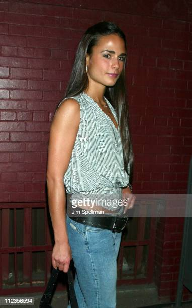 Jordana Brewster during Entertainment Weekly's 1st Annual IT List Party at Milk Studios in New York City New York United States