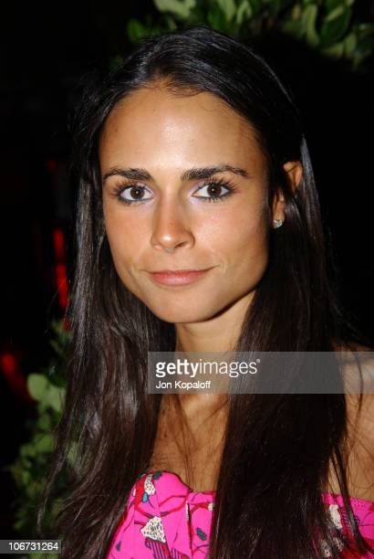 Jordana Brewster during PlayStation 2 'Bungalow Beach Party' at Viceroy Hotel in Santa Monica California United States