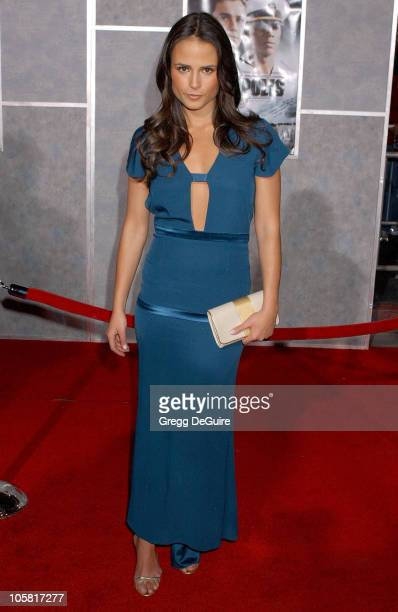 Jordana Brewster during Touchstone Pictures' 'Annapolis' World Premiere Arrivals at El Capitan Theatre in Hollywood California United States