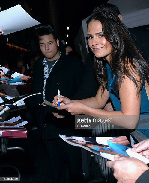 Jordana Brewster during Touchstone Pictures' Annapolis World Premiere Red Carpet at El Capitan Theatre in Hollywood California United States