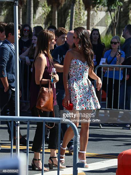 Jordana Brewster is seen arriving to the Teen Choice Awards 2015 on August 16 2015 in Los Angeles California