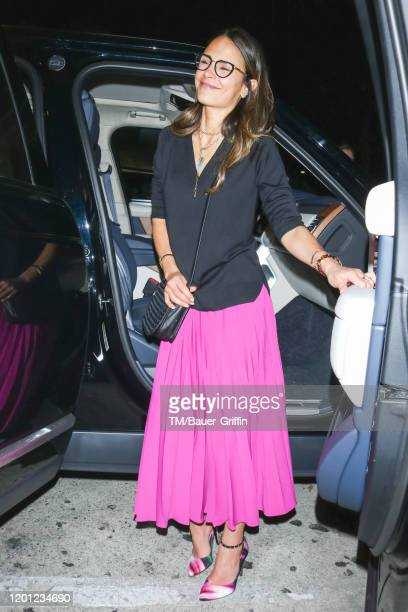 Jordana Brewster is seen on February 15 2020 in Los Angeles California