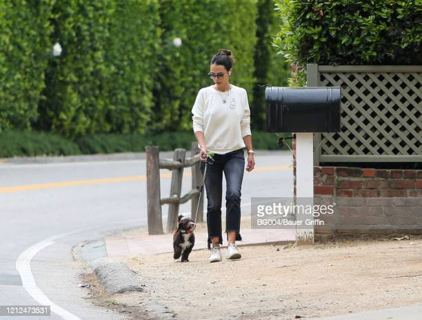 Jordana Brewster is seen on May 10 2020 in Los Angeles California