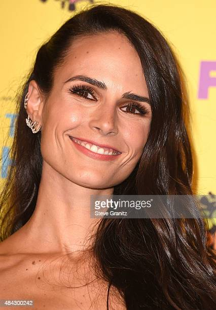 Jordana Brewster poses in the press room at the Teen Choice Awards 2015 at Galen Center on August 16 2015 in Los Angeles California