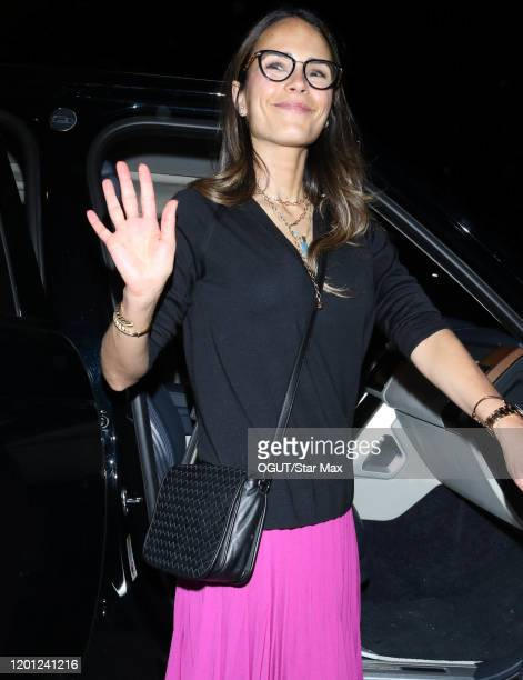 Jordana Brewster seen on February 16 2020 in Los Angeles California