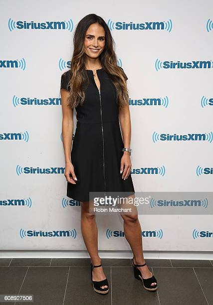 Jordana Brewster visits at SiriusXM Studio on September 20 2016 in New York City